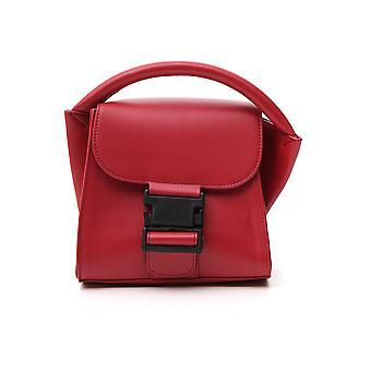 Zucca Zu99ag27221 Women's Red Leather Handbag