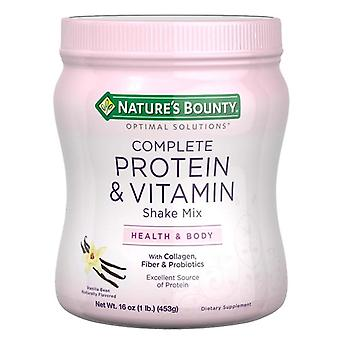 Nature's bounty complete protein & vitamin shake mix, 16 oz