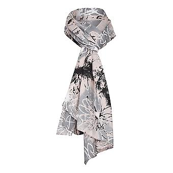 TIGI Rose  Abstract Floral Print Scarf