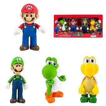 Super Mario large 4-pack collectie grote figuren 12cm