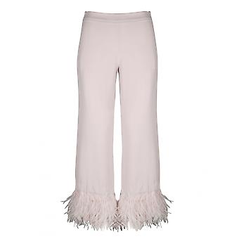 P.a.r.o.s.h. D230421p063 Women's Nude Polyester Pants