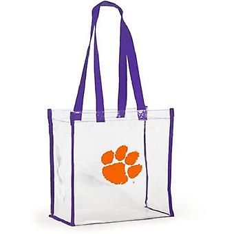 Clemson Tigers NCAA Clear Stadium Tote Bag