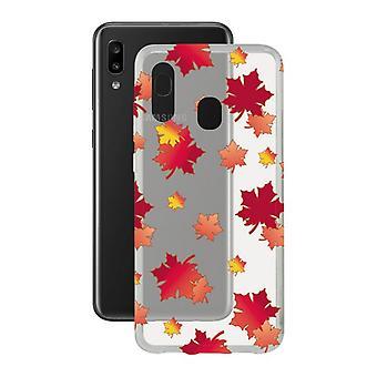 Mobile cover Samsung Galaxy A20e Contact Flex TPU Autumn
