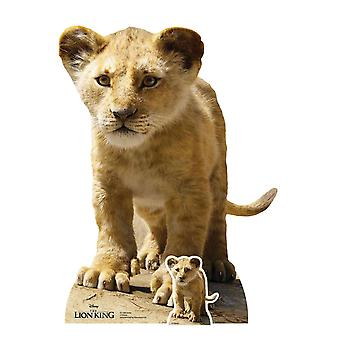 Simba from The Lion King Live Action Style Official Cardboard Cutout