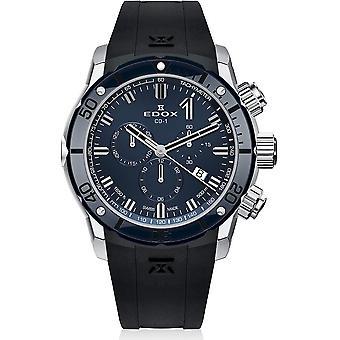 Edox - Wristwatch - Men - CO-1 - Chronograph - 10221 3BU7 BUIN7