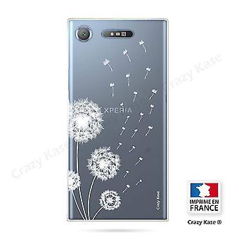 Rumpf für Sony Xperia Xz1 Soft Pissenlit Blumen