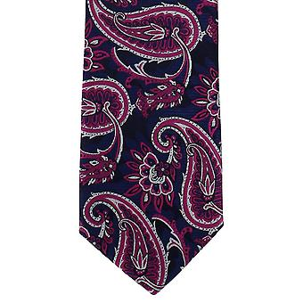 "Michelsons de Londres ""BOLD"" Paisley cravate Polyester - rose"