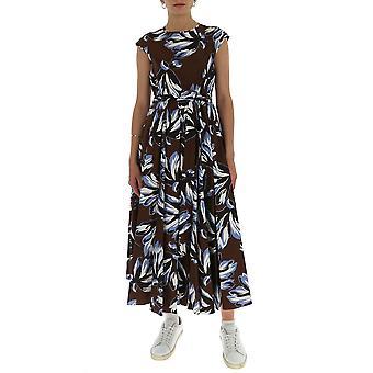 -apos;S Max Mara 92210701600028002 Women-apos;s Brown Cotton Dress