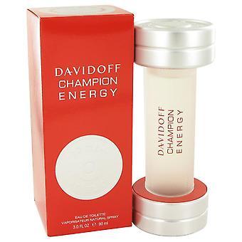 Davidoff mester energi Eau De Toilette Spray av Davidoff 3 oz Eau De Toilette Spray
