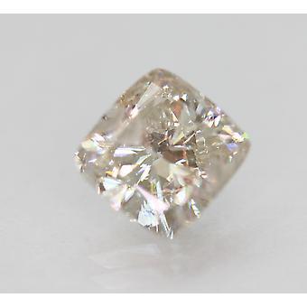 Certified 1.50 Carat H VS2 Cushion Enhanced Natural Loose Diamond 6.86x6.55m 2VG