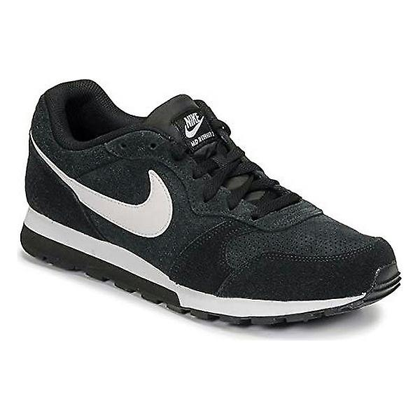 Men's Trainers Nike Md Runner 2 Suede/45/Black/White - Remise particulière