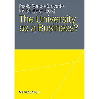 The University as a Business - 2011 by Iris Saliterer - 9783531180458