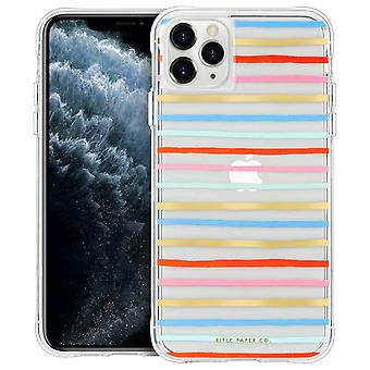 Case for iPhone 11 Pro Max- Happy Stripes- Rifle Paper- Case Mate, Multicolor