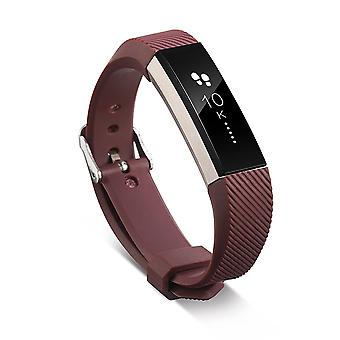 Replacement Wristband Bracelet Strap Wrist Band for Fitbit Alta Classic Buckle [Brown] BUY 2 GET 1 FREE