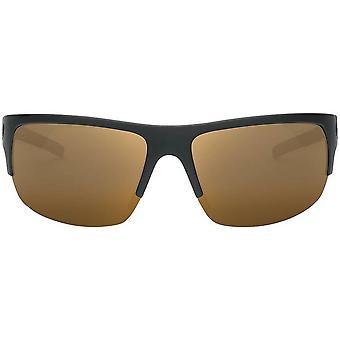 Electric California Tech One Pro Sunglasses - Matte Black/Polarized Bronze Pro