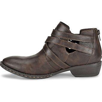 B.O.C Womens Denali Almond Toe Ankle Fashion Boots