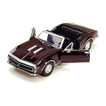 MotorMax American Classics - 1967 Chevy Camaro SS - Burgundy / Black 1:24
