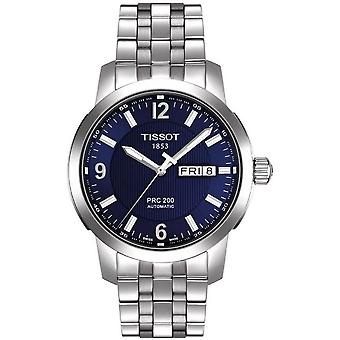 Tissot T014.430.11.047.00 PRC 200 Blue Dial Acero Hombres's Reloj