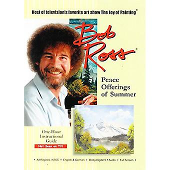 Bob Ross the Joy of Painting: Peace Offerings of Summer [DVD] USA import