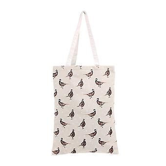 CGB Giftware Holly House Pheasant Shopping Bag