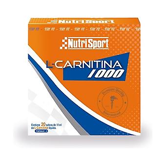 L-Carnitine 1000 20 packets of 500mg