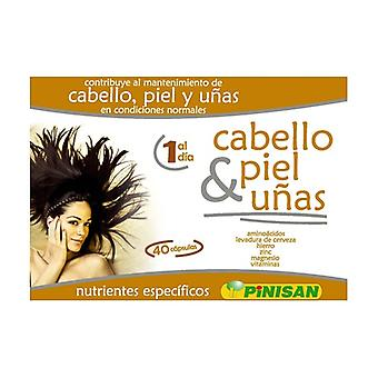 Hair, skin and nails 40 vegetable capsules