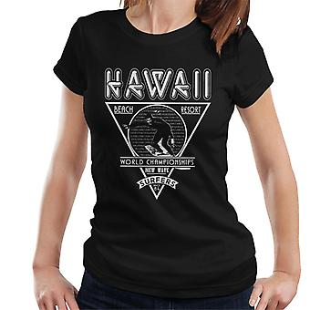 Londra Banter Hawaii New Wave Surfers Donne's T-Shirt
