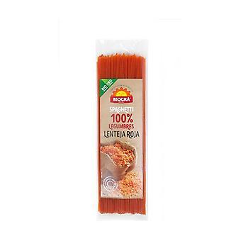 Organic Red Lentil Spaguetti 250 g