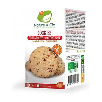 Cookies Red fruits White chocolate 150 g
