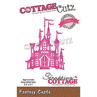 Castelo de Fantasia de Cottage sucateando