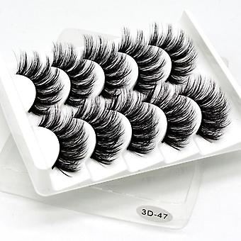 False Eyelashes Handmade Natural Eyelashes Extended Beauty Makeup