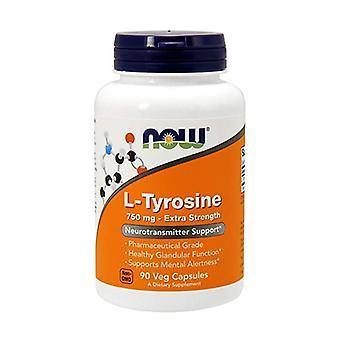 L-Tyrosine 90 vegetable capsules