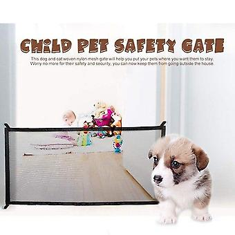 Dog Gate Ingenious Mesh Fence For Indoor And Outdoor Safe Gate Safety Enclosure Supplies Dog Safety Net