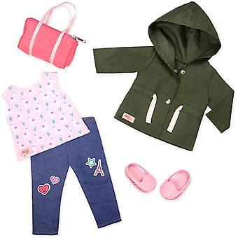 Notre génération 70.30419Z Alpaca Vos sacs Accessoires jouets Tenue, pour une poupée de 18 pouces / 46 cm