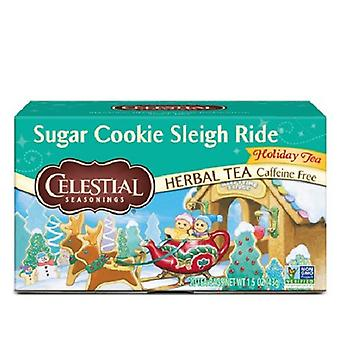 Celestial Seasonings Tea Sugar Cookie Sleigh Ride