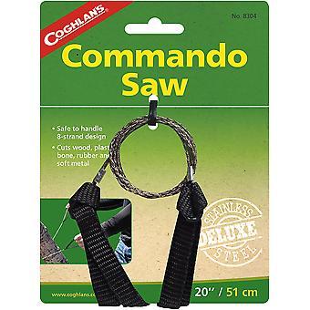 "Coghlan's Commando Saw, 20"" Draadsnijoppervlak, Snijhout en ander materiaal"