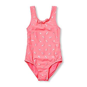 The Children's Place Big Girls' Novelty One Piece Bathing Suit, Catch me Pink...