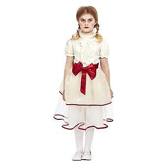 jenter porselen dukke fancy kjole kostyme