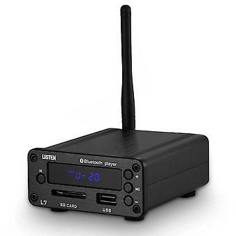 Hifi Bluetooth 5.0 Receiver Dac Stereo Audio Preamp Usb Music Player Fm Radio Headphone