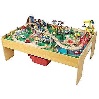 Kidkraft Adventure Town Railway Set and Table