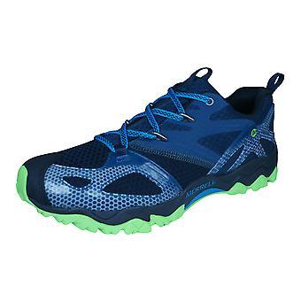 Merrell Grassbow jinete Mens senderismo / caminar formadores / zapatos - azul
