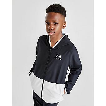 New Under Armour Boys' Woven Track Jacket Black
