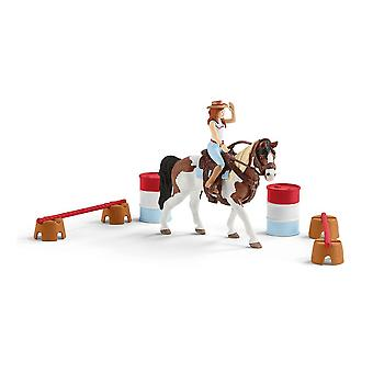Schleich Horse Club Hannah's Western Riding Set (42441)