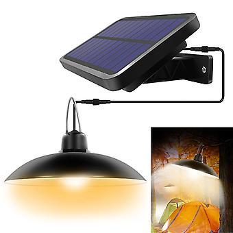 Solar Pendentif Lumière extérieur lampe solaire intérieure avec ligne chaude blanc / blanc éclairage pour camping Home Garden Yard