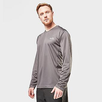 Neue Peter Storm Men's Balance Langarm T-Shirt grau