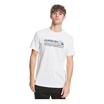 Quiksilver Stone Cold Classic T-Shirt - White