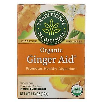 Traditional Medicinals Teas Organic Ginger Aid Tea, 16 Bags