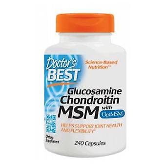 Doctors Best Glucosamine Chondroitin OptiMSM, 240 Caps