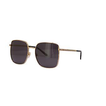 غوتشي GG0802S 001 نظارات شمسية ذهبية / رمادية