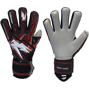 Kaliaaer SHOKLOCK DARKONIC NEGATIVE CUT Goalkeeper Gloves Size